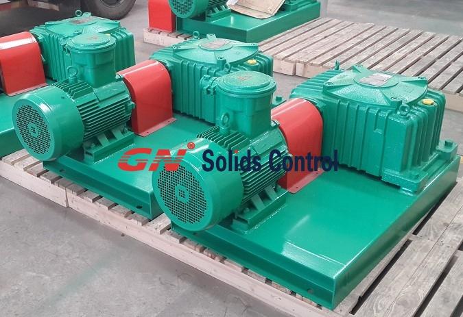Mud agitator for drilling fluids tank and oily sludge tank