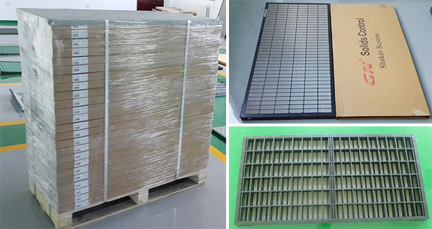 Composite material replacement screen