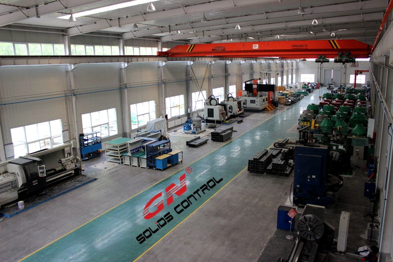 GN new factory for centrifuge