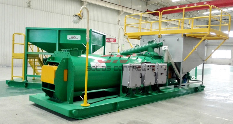 Drill cuttings Solidification unit