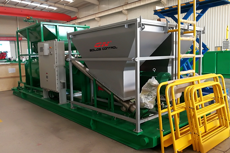 Automatic Drilling Cuttings Solidification Unit for CNPC Project