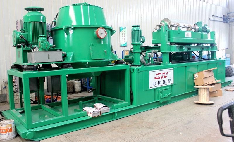 Vertical cuttings drying system