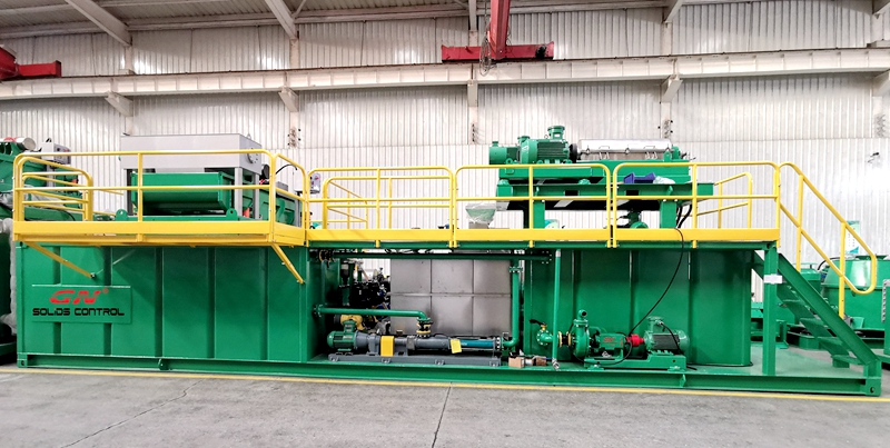 2020.03.12 Decanter Centrifuge for Oil Sludge Treatment