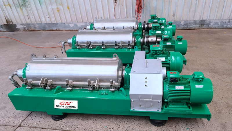 2020.12.02 Dewatering Centrifuge-GNLW224EP-VFD